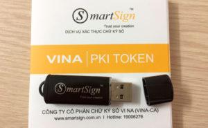 Gia hạn chữ ký số Vina (SmartSign)